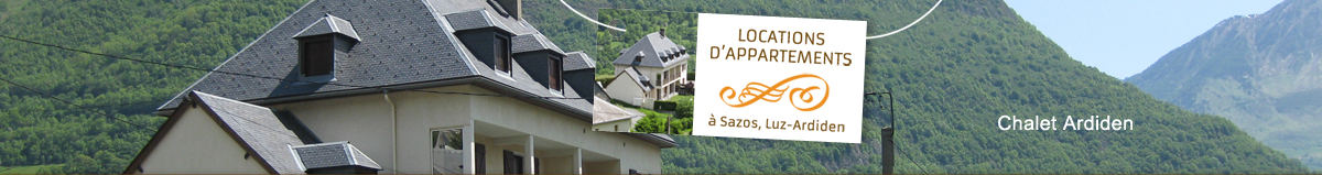 chalet ardiden location appartements